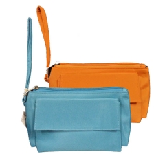 4. ELLE Orange Pouch