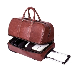 LMS - Leather Travel Bag